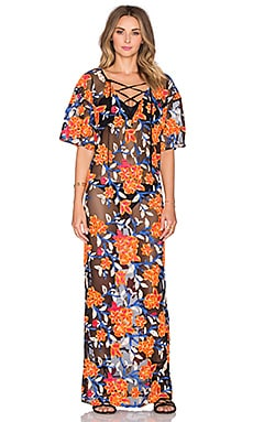 Tt Beach Valentina Caftan in Multi