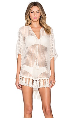 Tt Beach Landis Caftan in Cream