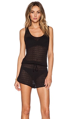 Tt Beach Lana Romper in Black