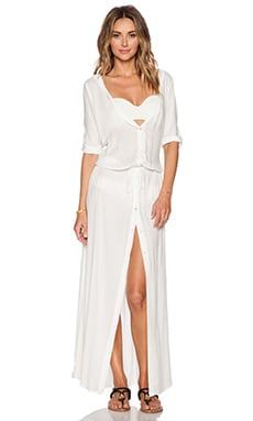Tt Beach Erin Maxi Dress in Shell
