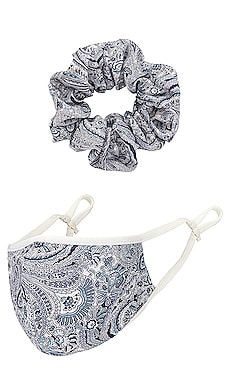 Mask Scrunchie Set Tularosa $28 (FINAL SALE) NEW