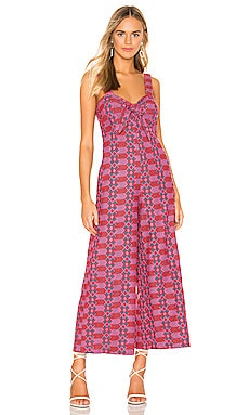 Betsy Embroidered Jumpsuit Tularosa $248