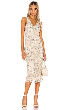 Effie Bias Dress Tularosa $258 NEW ARRIVAL