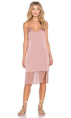 Tularosa Beckett Slip Dress in Dusty Rose