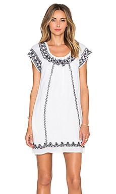 Tularosa Lila Tunic Dress in White