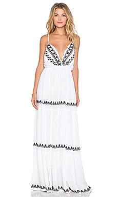 Tularosa White Sands Maxi Dress in White