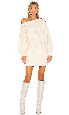 Cable Rib Mix Dress Tularosa $198