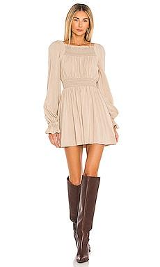 Fabiana Smocked Dress Tularosa $198