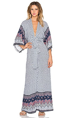 Tularosa x REVOLVE Rosella Maxi Dress in Blue & Pink