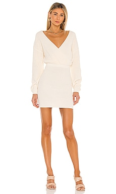 Mia Surplice Mini Dress Tularosa $178