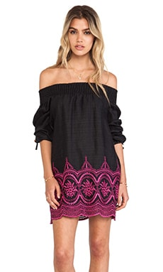 Tularosa Clover Dress in Black