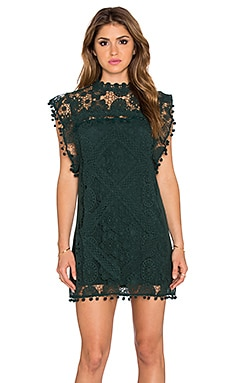 Tularosa x REVOLVE Clayton Tunic Dress in Hunter Green