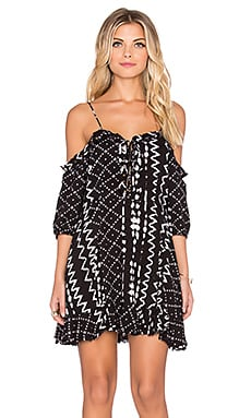 Tularosa Tionesta Dress in Black & White