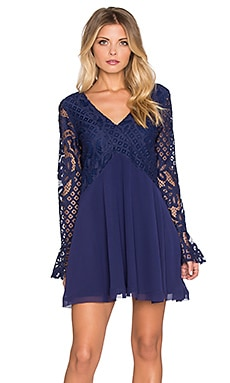 Tularosa Skylar Dress in Navy