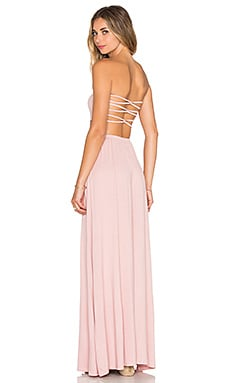 Tularosa x REVOLVE Demi Strapless Maxi Dress in Mauve