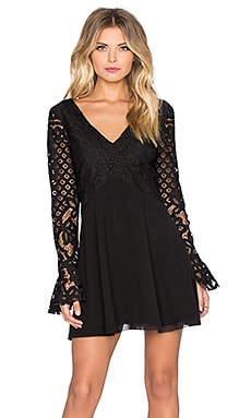 x REVOLVE Skylar Dress in Black