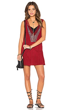 Tularosa Casablanca Dress in Wine