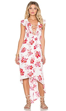 Tularosa x REVOLVE Nashville Dress in Fuchsia Bloom