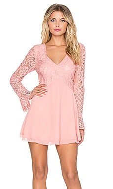 Tularosa x REVOLVE Skylar Dress in Blush
