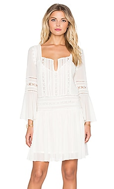 Tularosa Creseda Dress in Vanilla