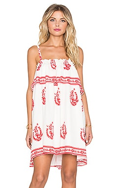 Tularosa Desert Moon Dress in Medallion Print