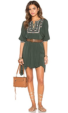 Tularosa Lennon Dress in Olive