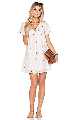 x REVOLVE Carson Dress in White