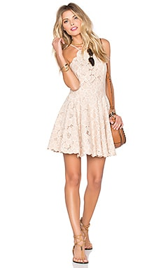 Cyrus Dress in Pale Blush