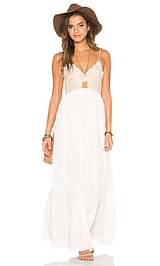 Bryce Maxi Dress in Pale Blush