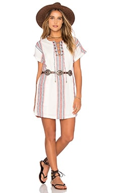 Warren Tunic Dress in Beatnik Stripe