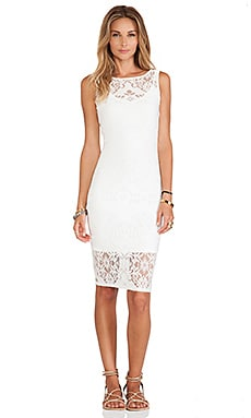 Alba Dress in White