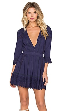 Tularosa x REVOLVE Belmont Dress in Navy