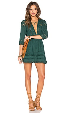 Tularosa x REVOLVE Payton Dress in Hunter Green
