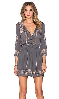x REVOLVE Orsen Dress in Charcoal