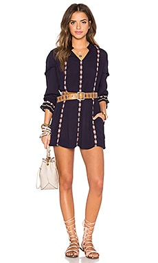 Tularosa Arabella Tunic Dress in Navy