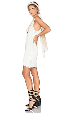 Tularosa Abel Dress in White