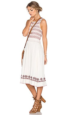 Tularosa Tamarack Dress in Ivory