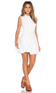 Tularosa x REVOLVE Ray Mini Dress in Ivory
