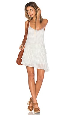 x REVOLVE Tenley Dress in White Dot