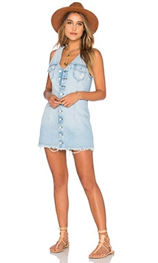 Zoe Denim Dress in Miami