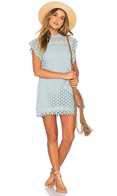 Clayton Lace Tunic in Mint
