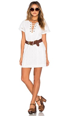 Tularosa Warren Tunic Dress in Milk
