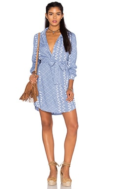 Tularosa James Shirt Dress in Chambray