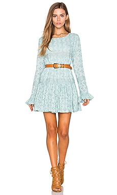 Tularosa Berkley Dress in Deep Mist