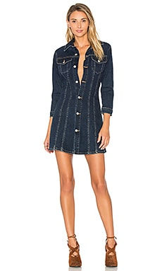 Savannah Denim Dress in Denver