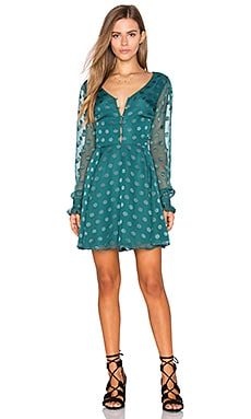 Tularosa Marisol Dress in Deep Viridian