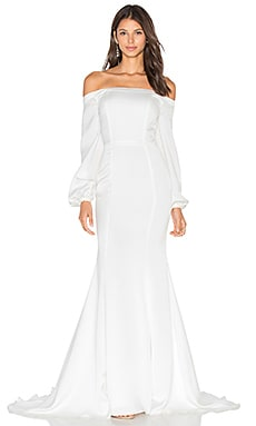 x REVOLVE Wyoming Gown in Off White