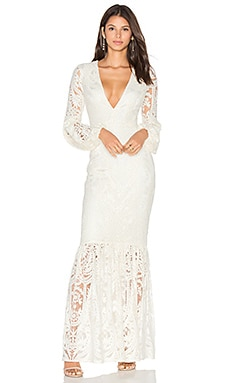 x REVOLVE Cliffside Gown in White