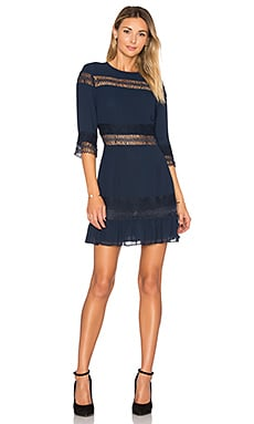 Asher Dress in Deep Indigo