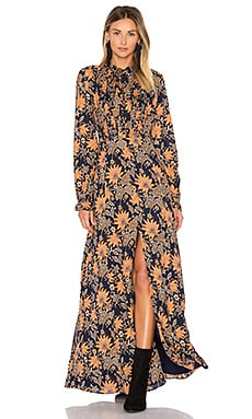 Tia Maxi Dress in Himalayan Floral
